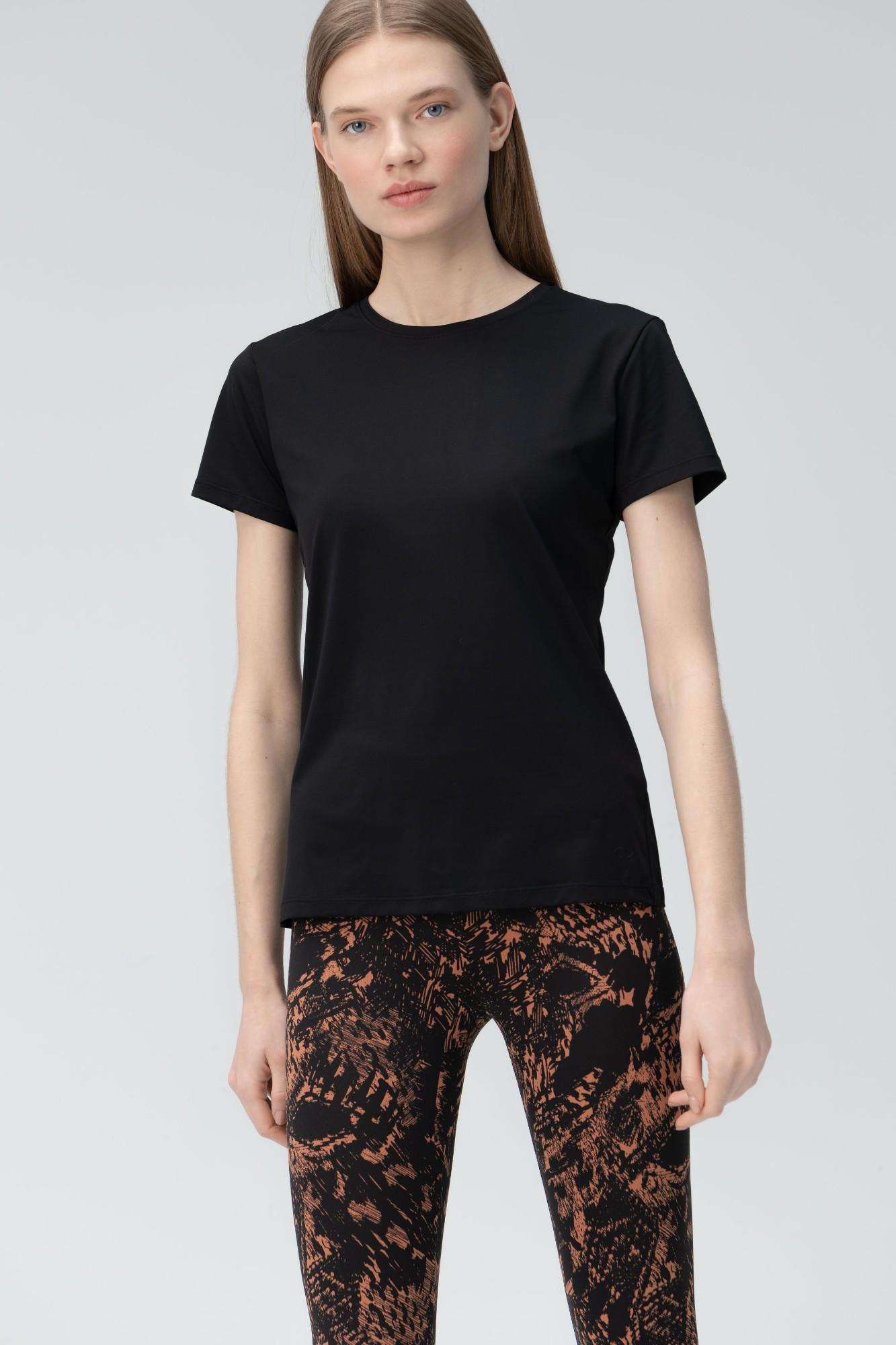 AUDIMAS Apranga Funkcionalūs marškinėliai 1821-227 Black M