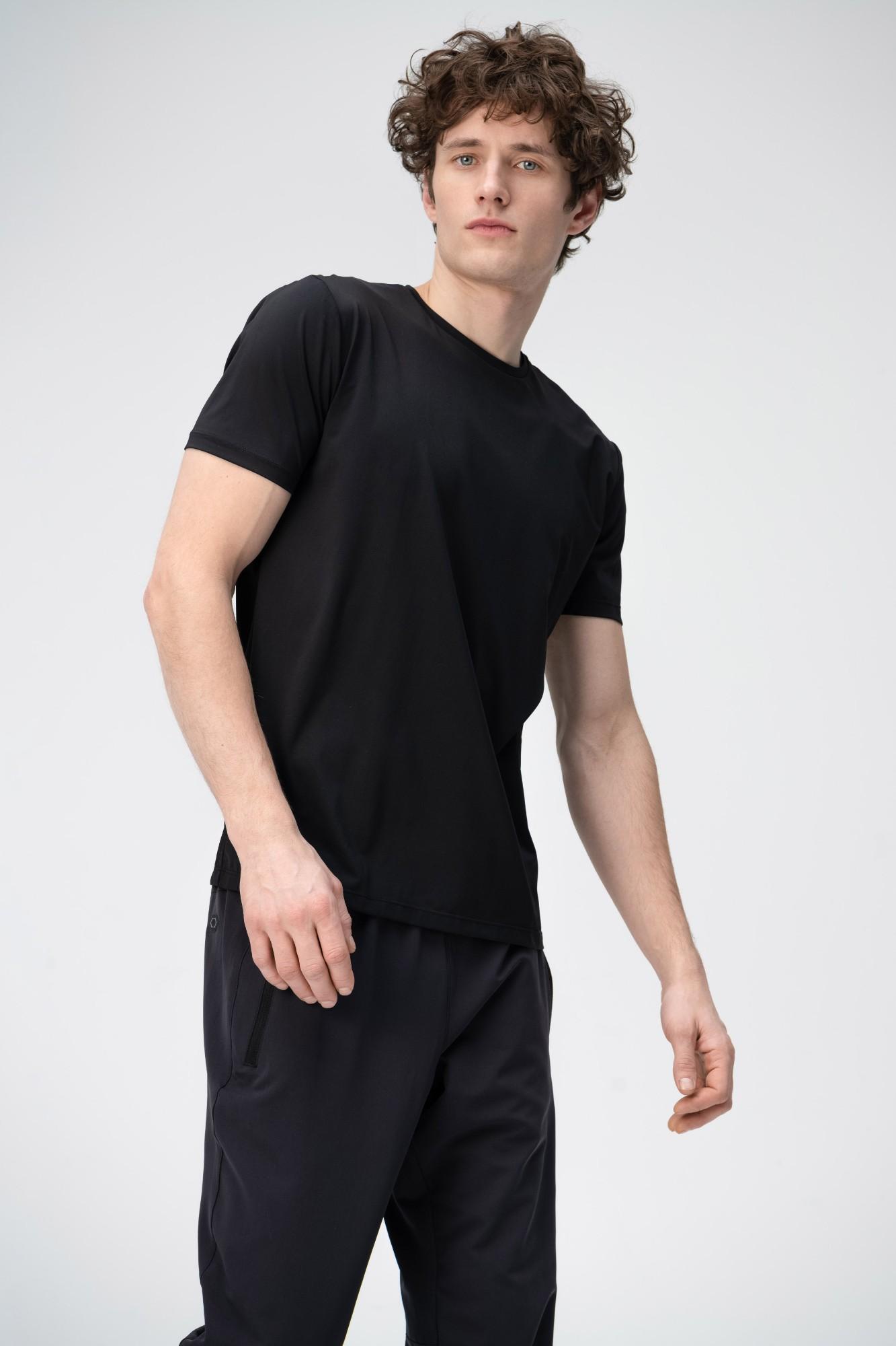 AUDIMAS Apranga Funkcionalūs marškinėliai 1811-495 Black M