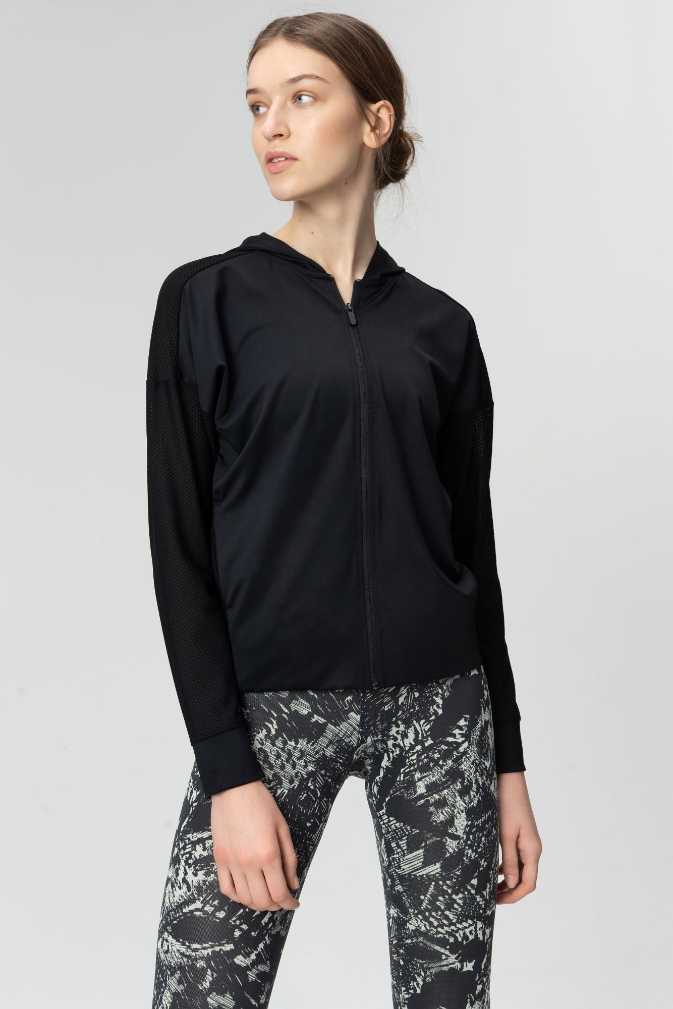 AUDIMAS Apranga Atsegamas funkcionalus džemperis Black M
