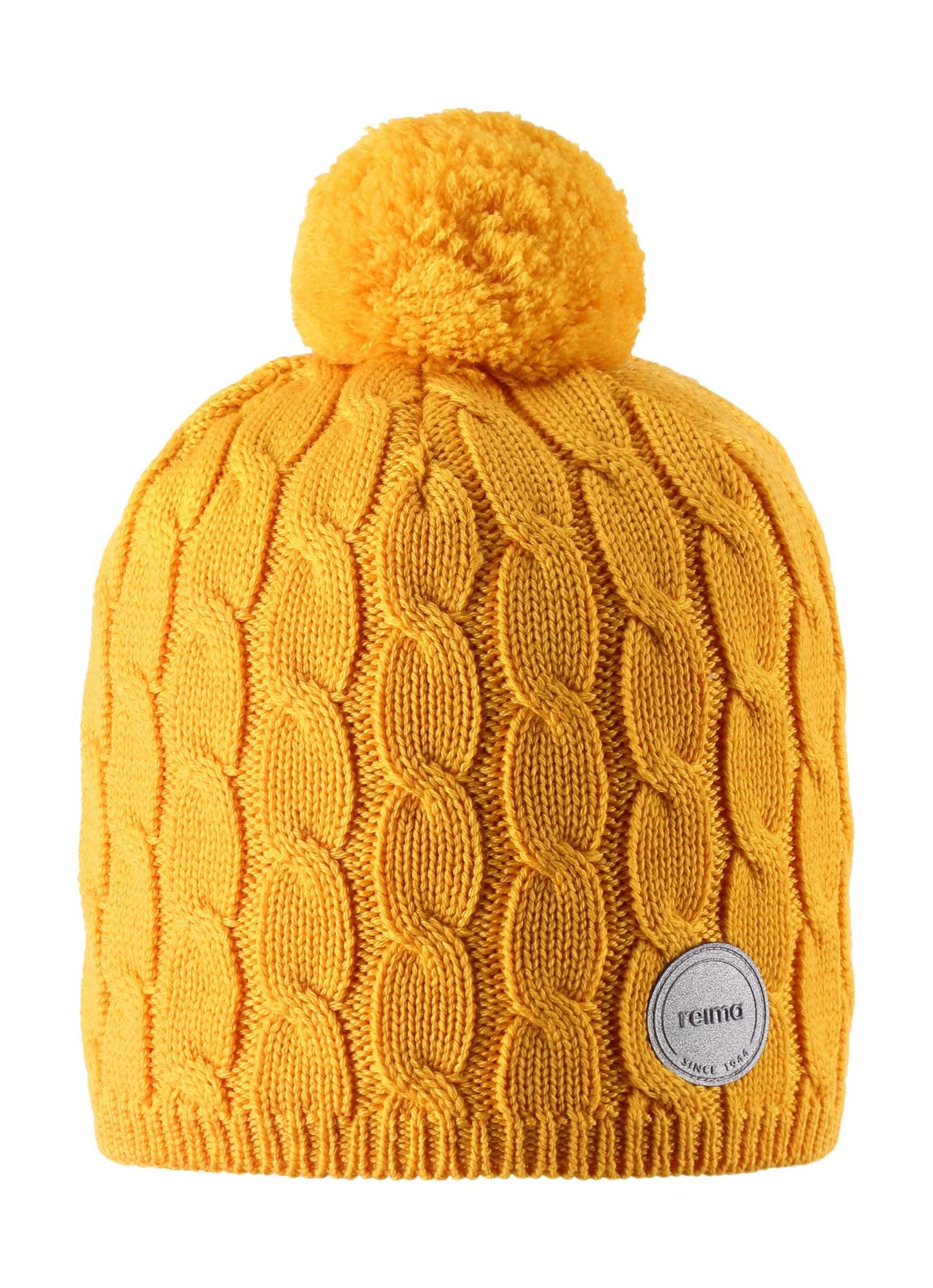 REIMA Nyksund Warm Yellow 52-54