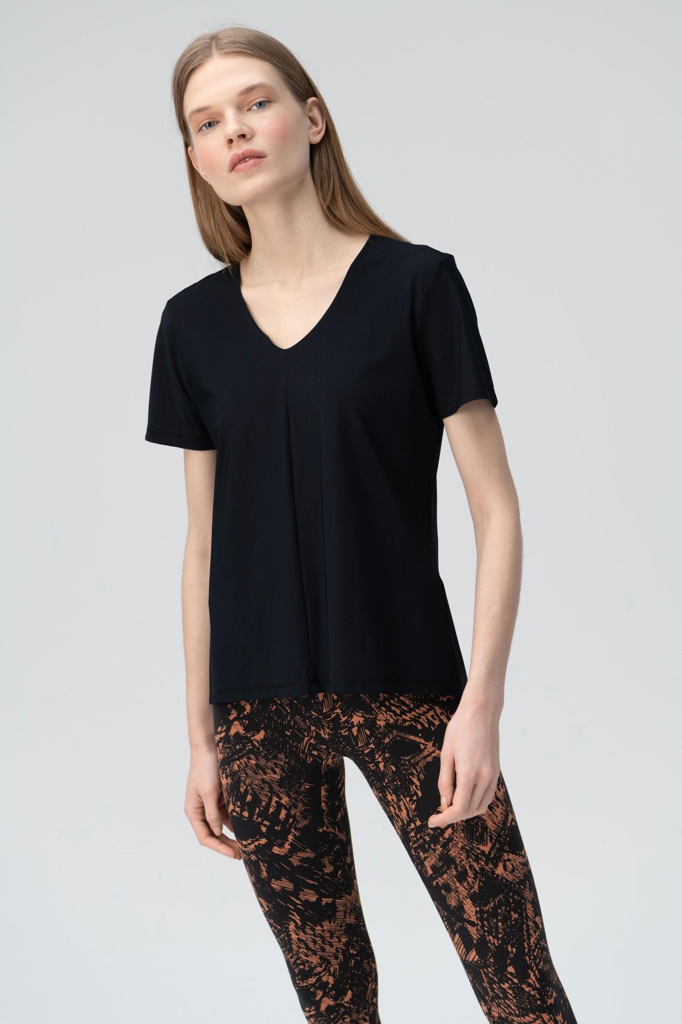 AUDIMAS Lengvi marškinėliai SENSITIVE 2011-023 Black XS