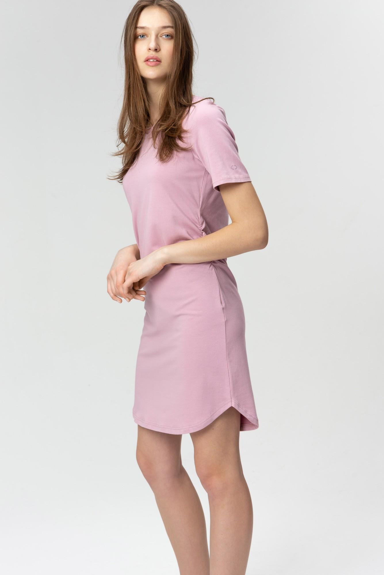 AUDIMAS Švelnaus modalo suknelė 2011-033 Mauve Shadows M