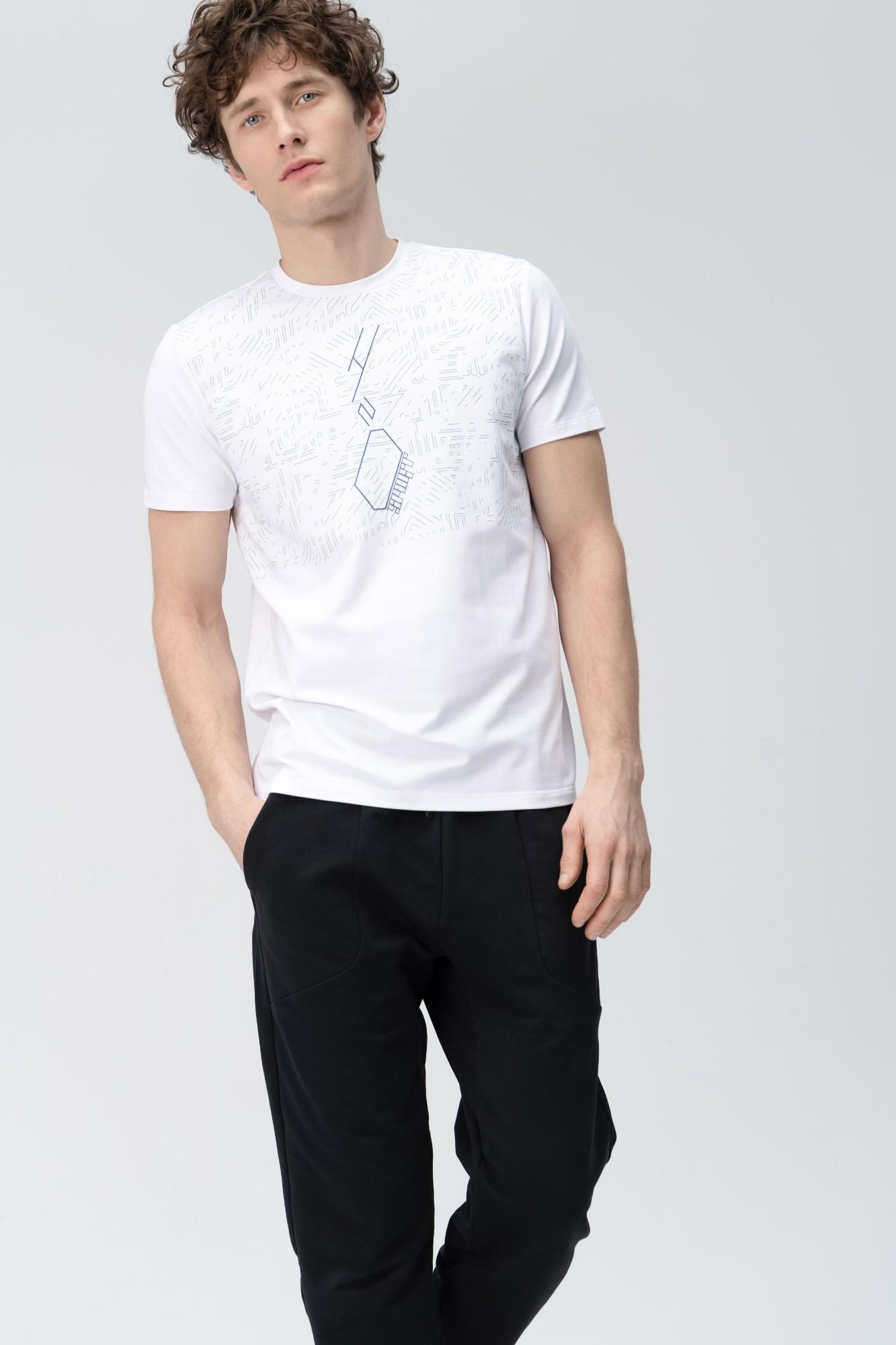 AUDIMAS Marginti švelnūs modalo marškin. 2011-526 White 2 Pr XL