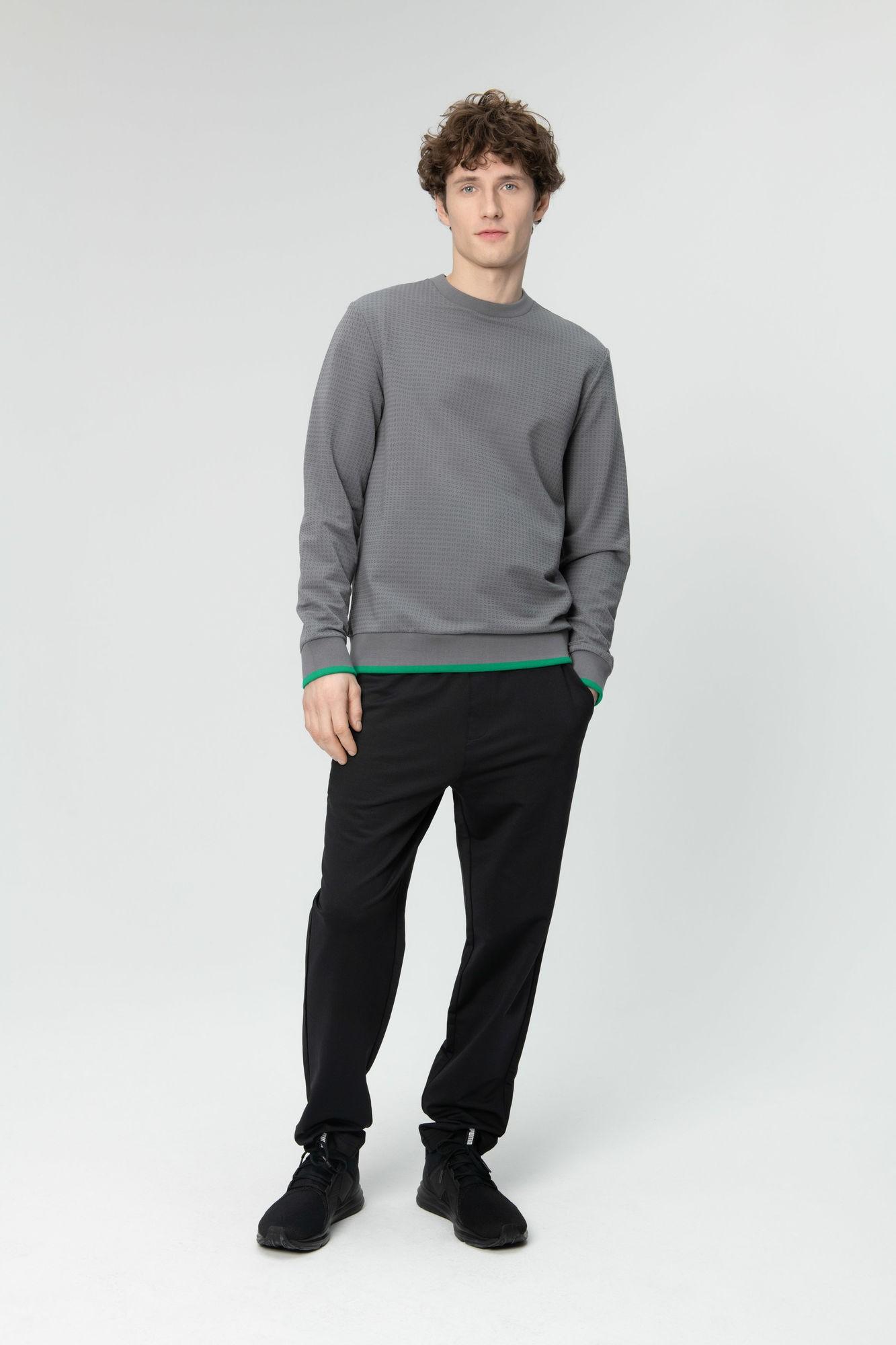 AUDIMAS Medvilnės TERRY trikotažo džemp. 20LT-409 Quiet Shade XL