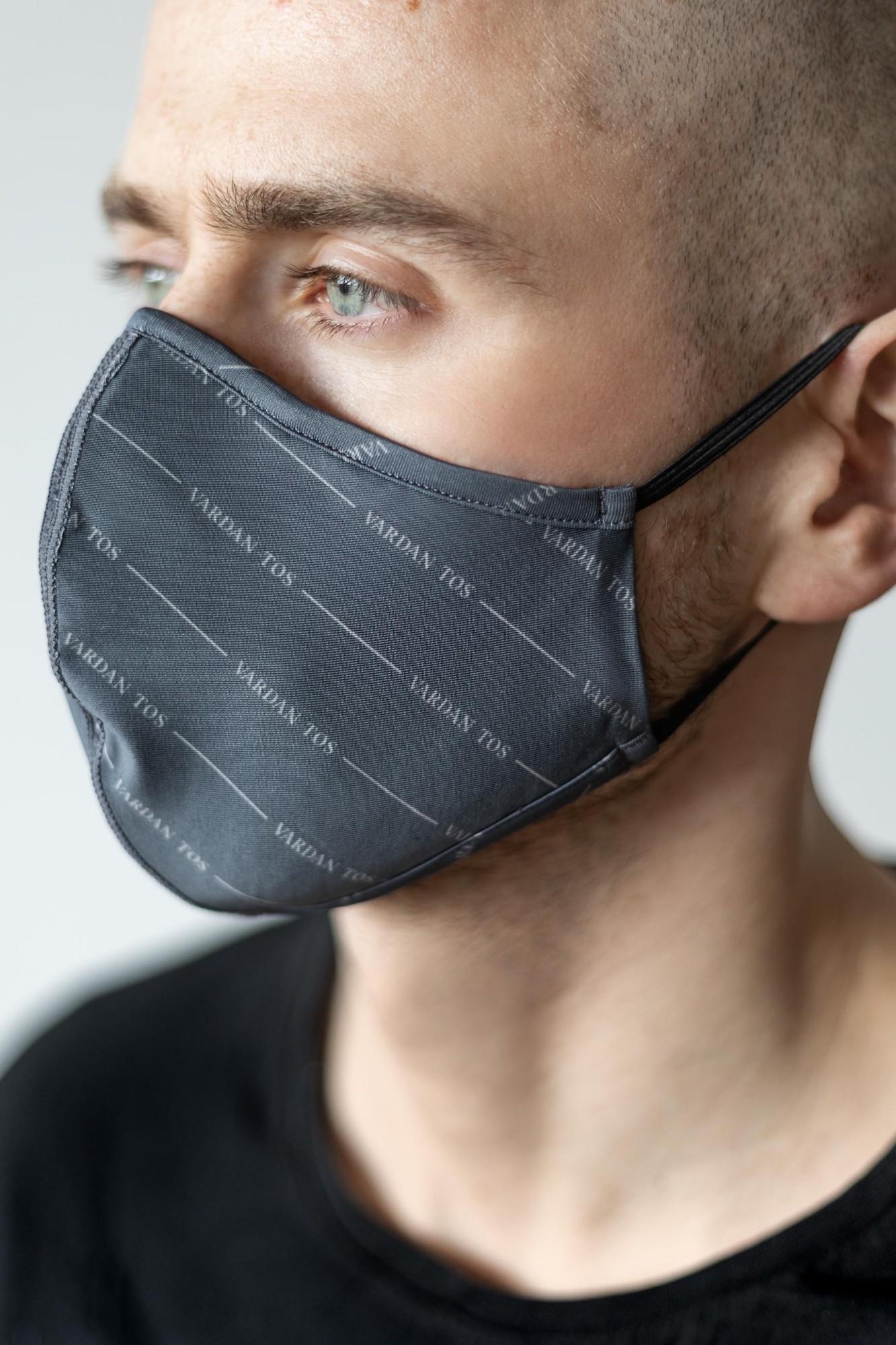 AUDIMAS Daugkartinio naudojimo 3D kaukė 3D PRINT Vardan Tos Asphalt Mask M