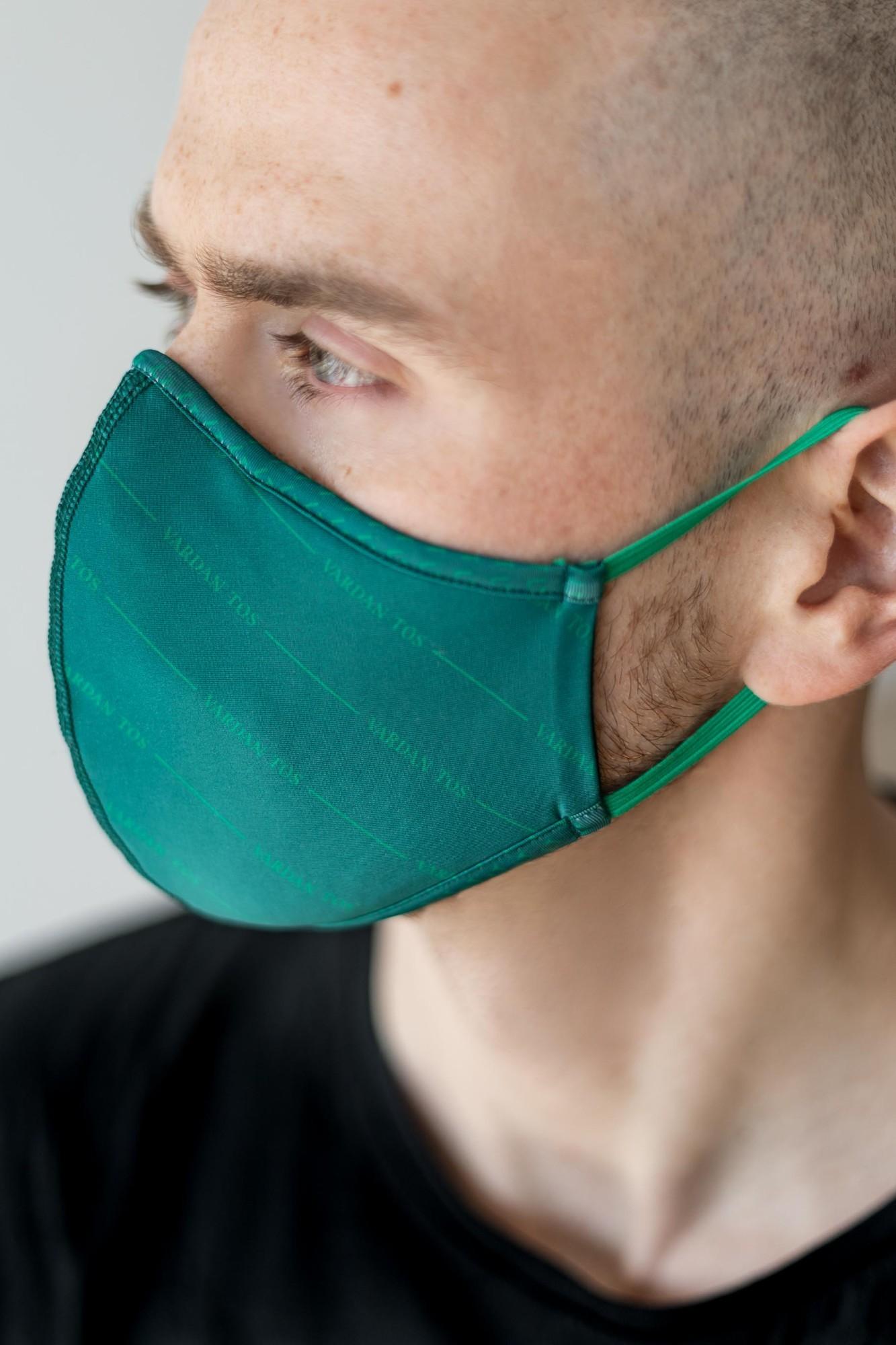 AUDIMAS Daugkartinio naudojimo 3D kaukė 3D PRINT Vardan Tos Evergreen Mask L