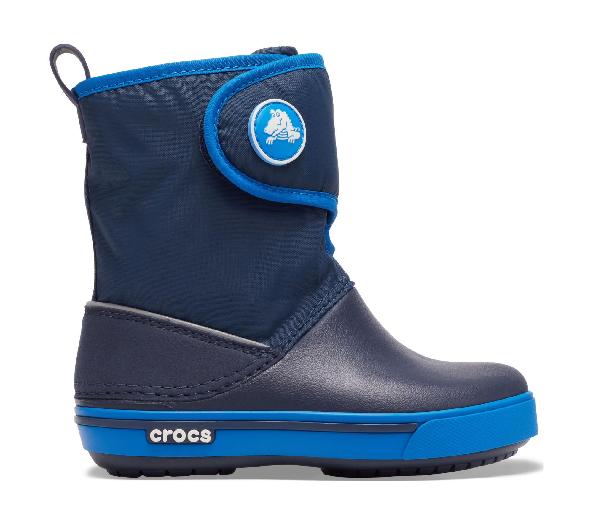 Crocs™ Kids' Crocband II.5 Gust Boot Navy/Bright Cobalt 29