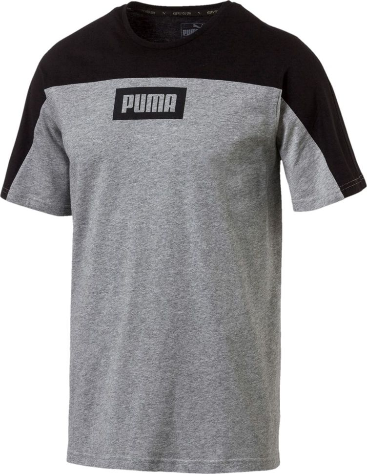 Puma Rebel Block Tee Gray XL