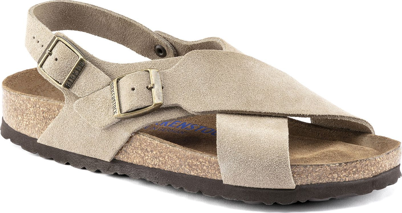 Birkenstock Tulum Suede Leather Taupe 37