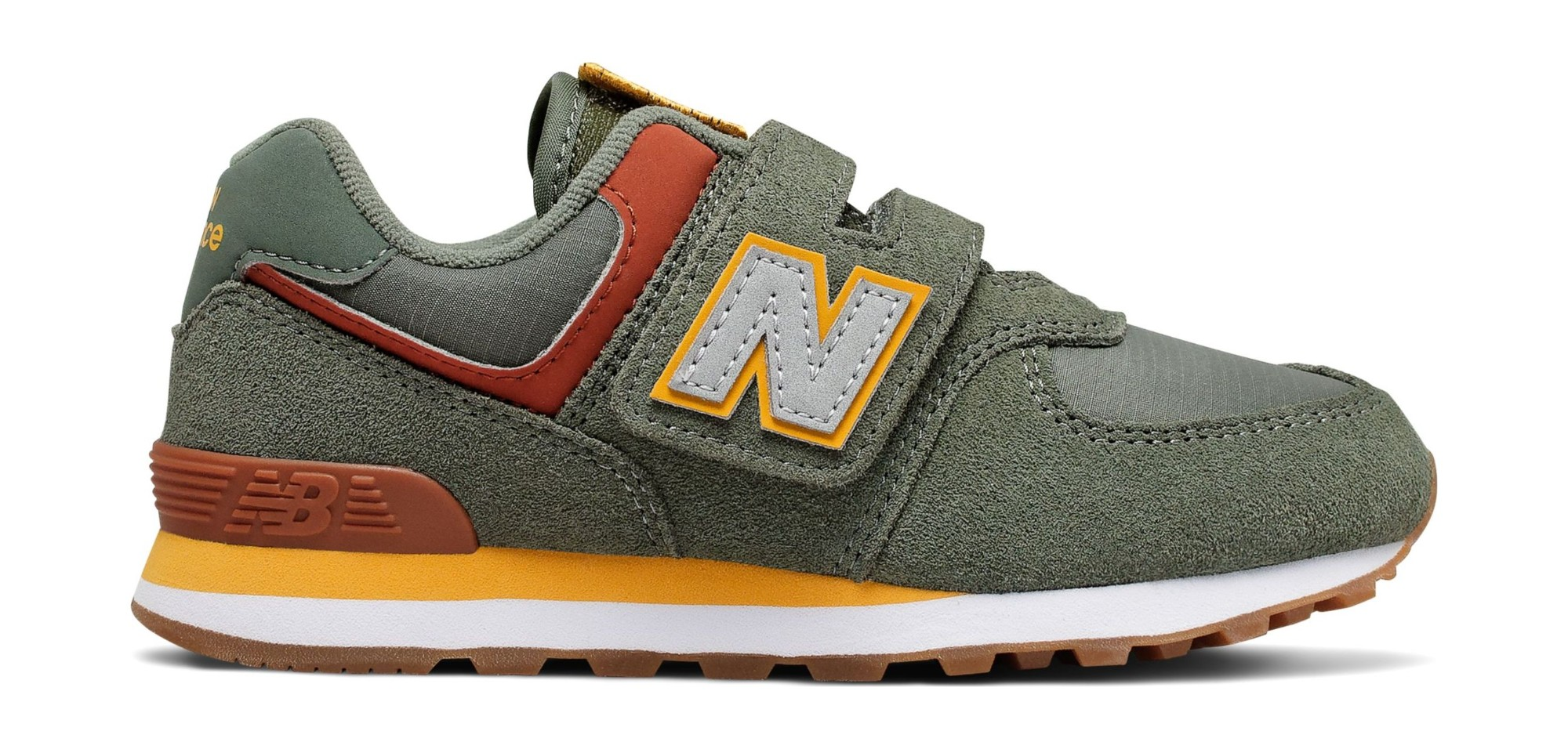 New Balance YV574 Green 38