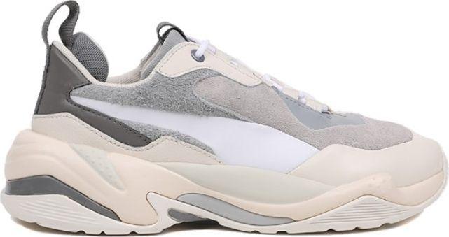 Puma Thunder Colour Block Women's Quarry/White Silver 39