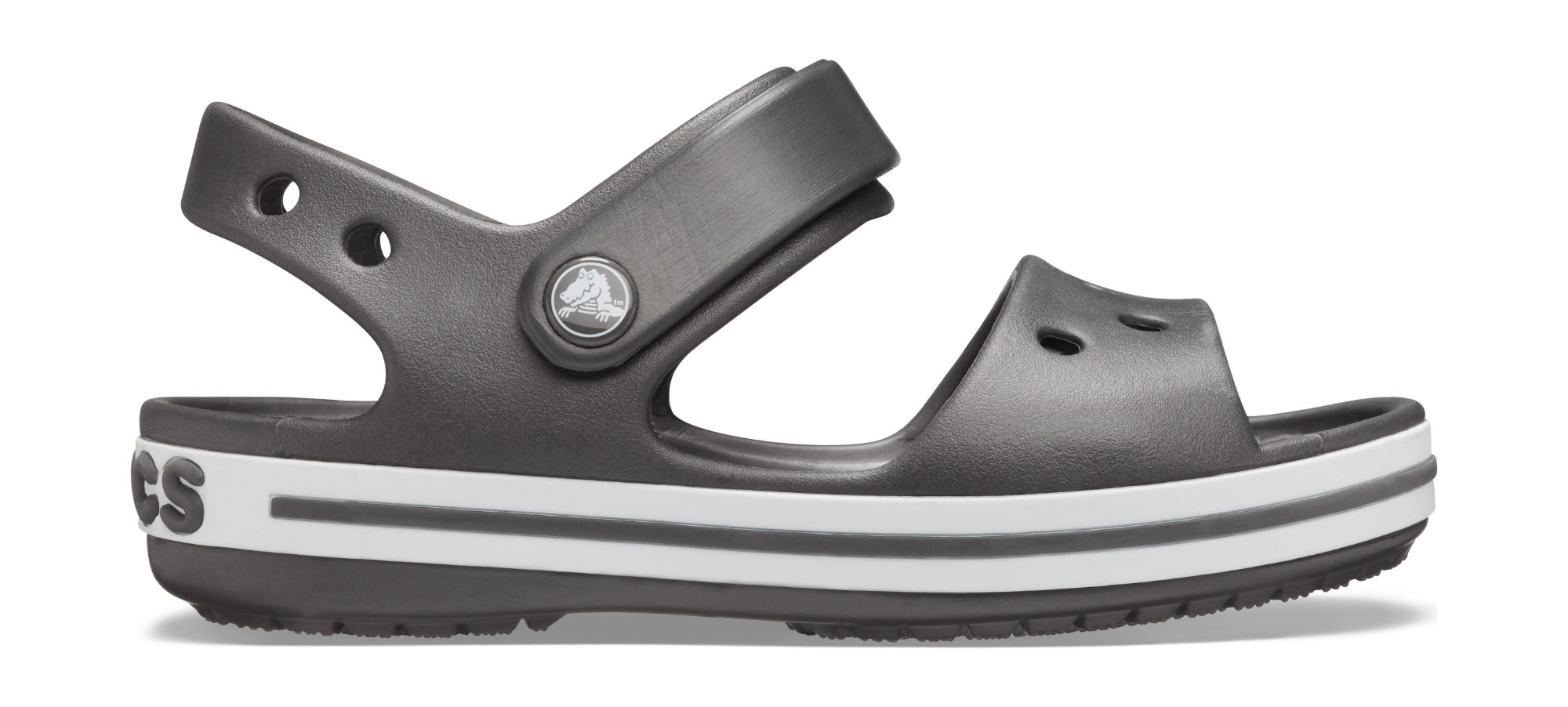 Crocs™ Kids' Crocband Sandal Graphite 25