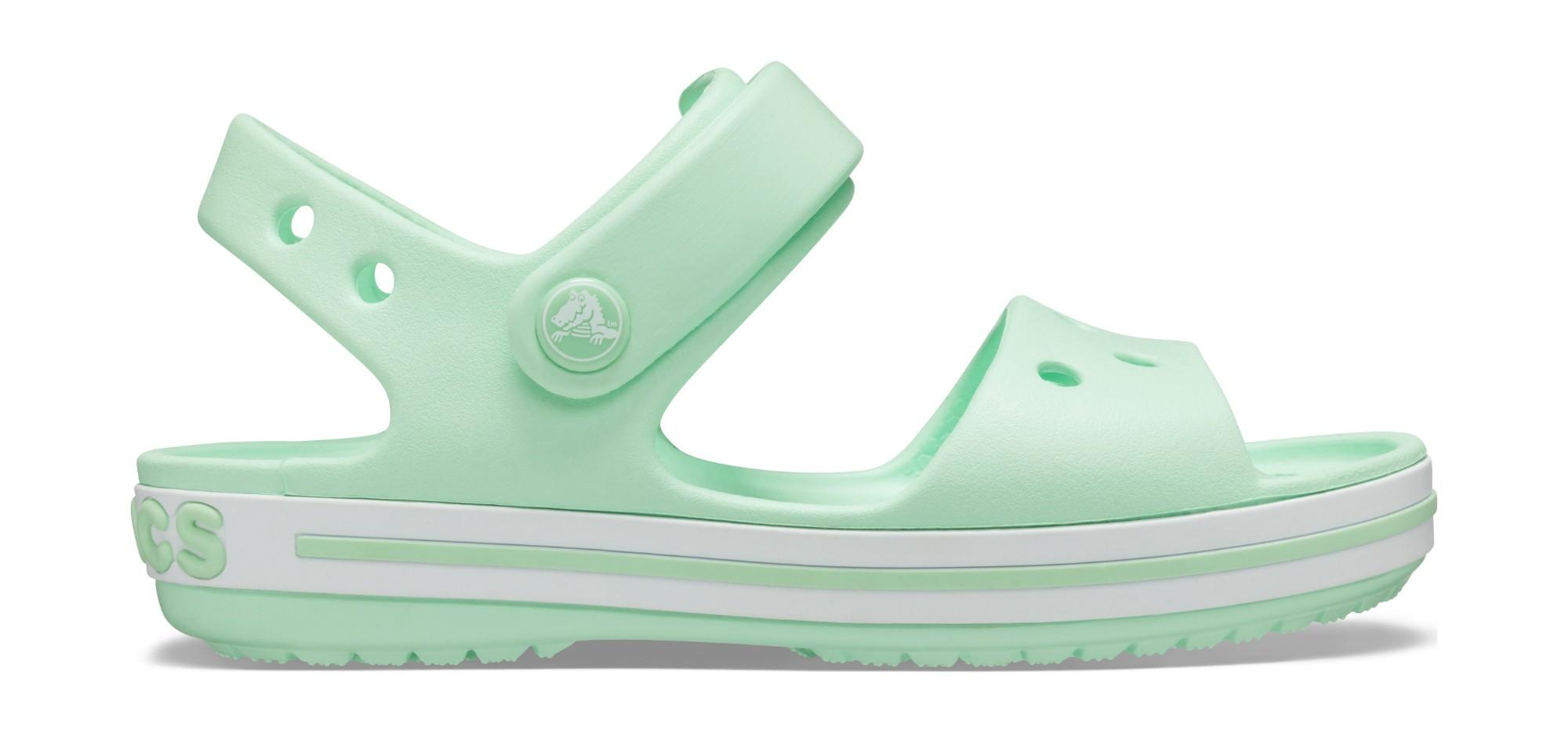 Crocs™ Kids' Crocband Sandal Neo Mint 23
