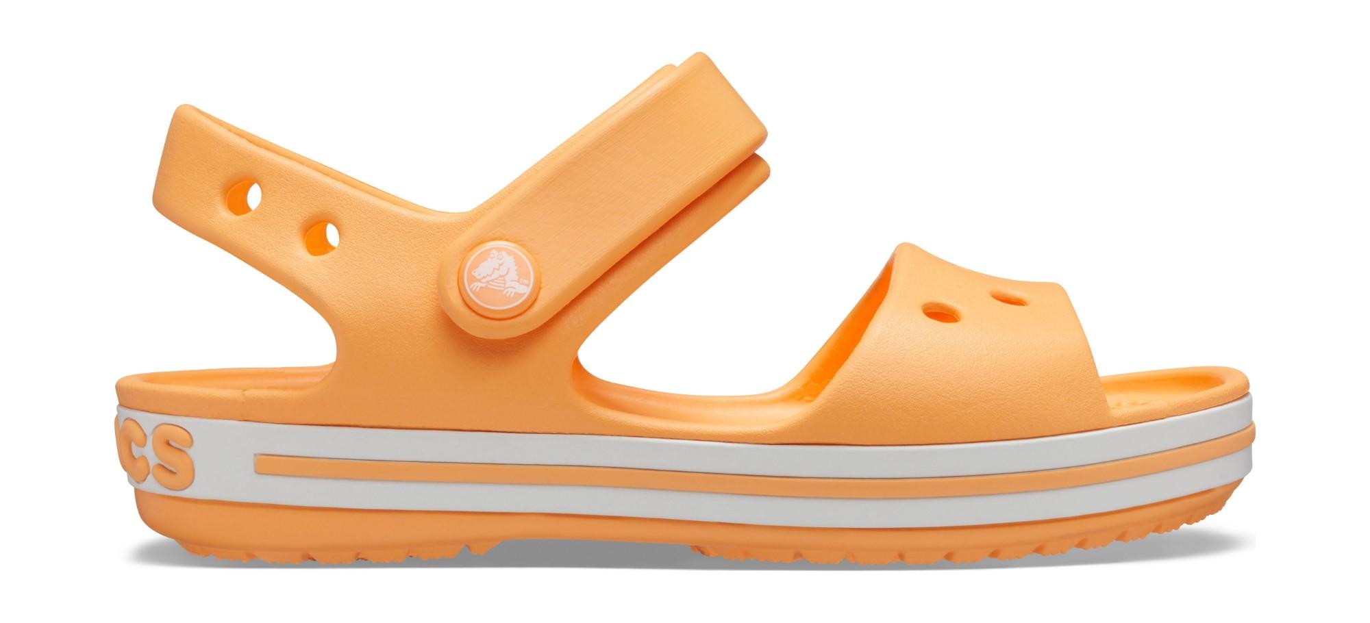 Crocs™ Kids' Crocband Sandal Cantaloupe 26