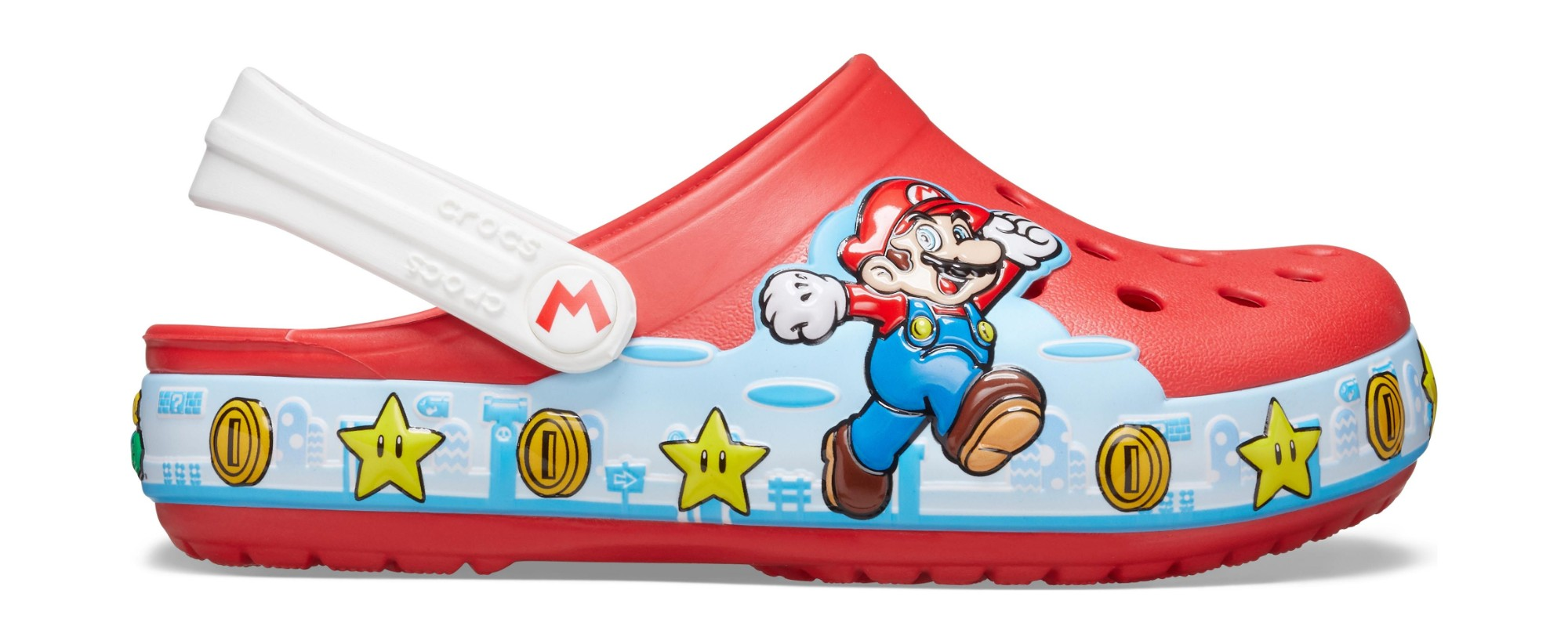 Crocs™ Kids' Fun Lab Super Mario Lights Clog Flame 27