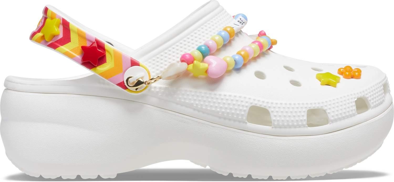 Crocs™ Classic Festival Vibe Platform Clog Women's White/Multi 36,5