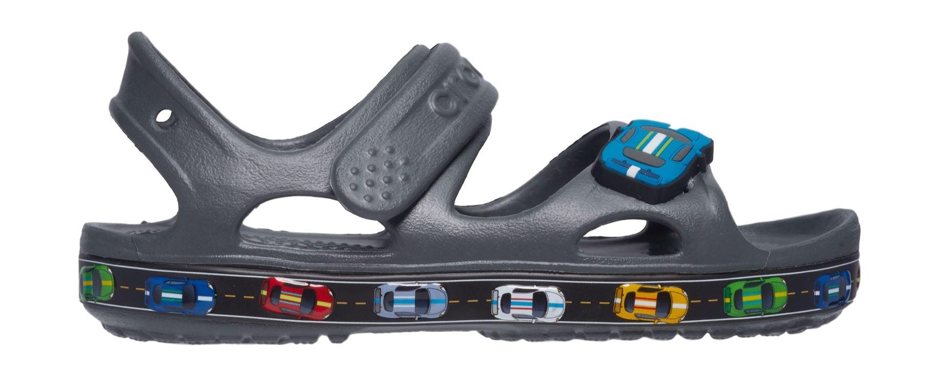 Crocs™ Fun Lab Car Sandal Slate Grey 27
