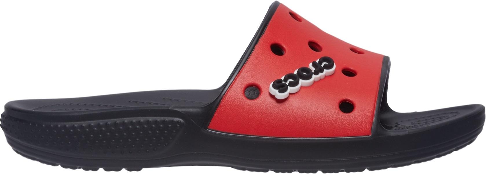 Crocs™ Classic Colorblock Slide Black/Flame 42,5