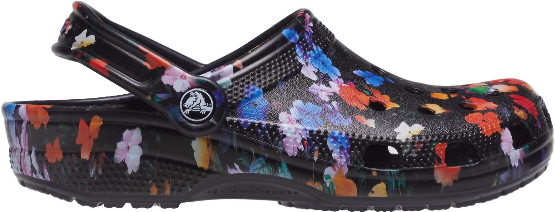 Crocs™ Classic Printed Floral Clog Black/Multi 42,5