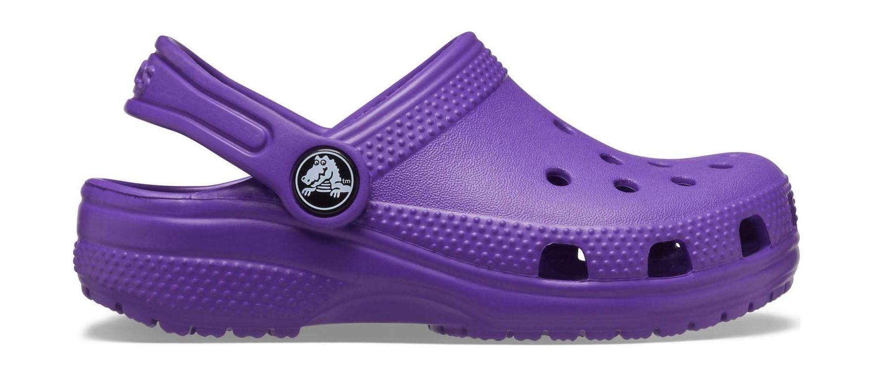 Crocs™ Kids' Classic Clog Neon Purple 33,5