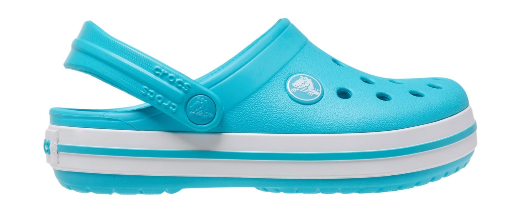 Crocs™ Kids' Crocband Clog Digital Aqua 24