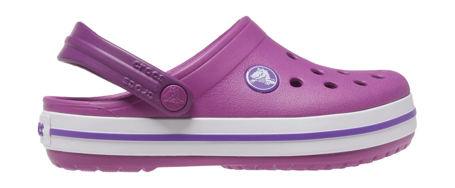 Crocs™ Kids' Crocband Clog Viola 30