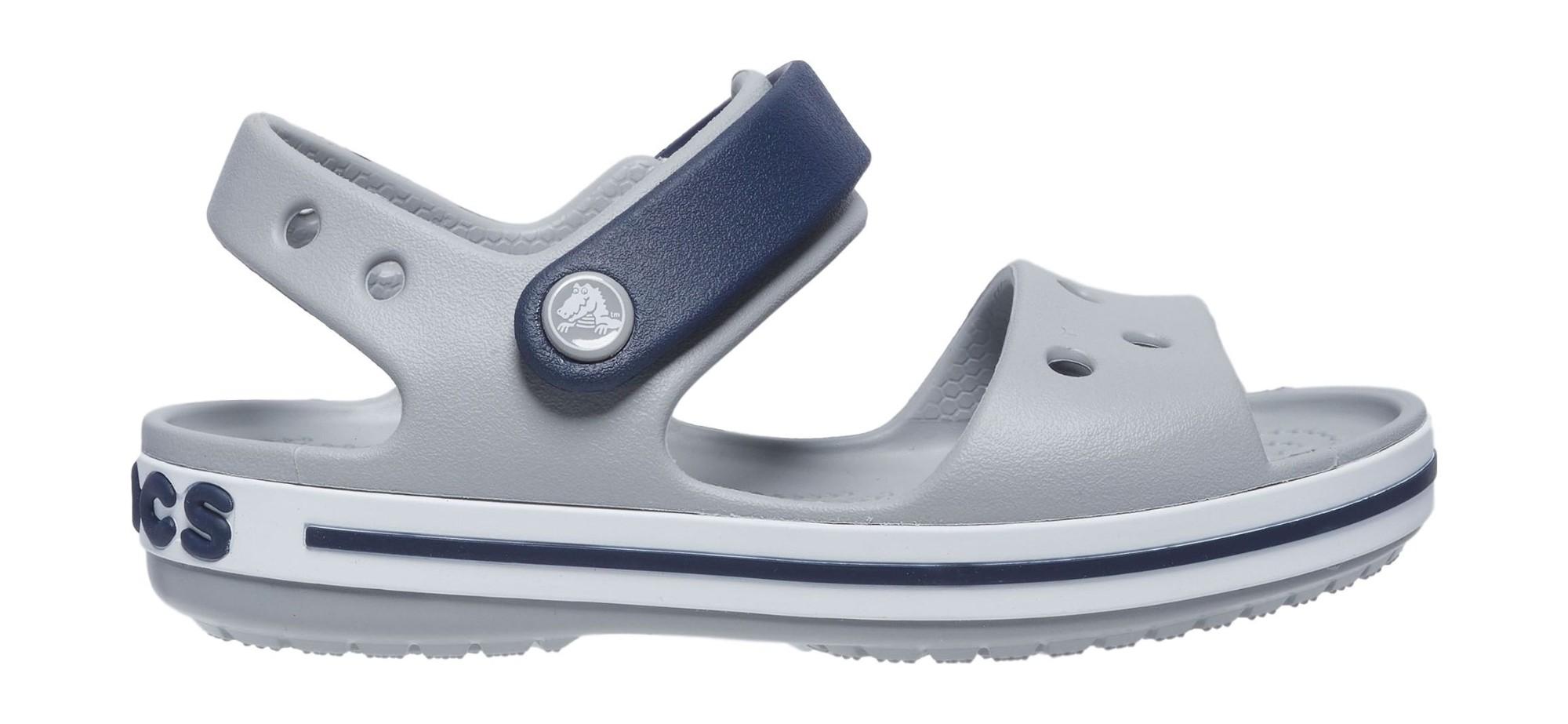 Crocs™ Crocband Sandal Kids Light Grey/Navy 33,5