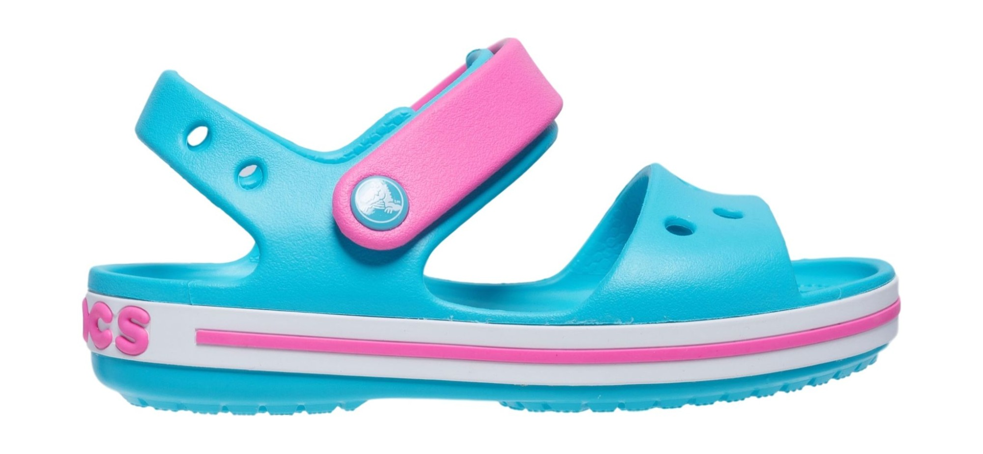 Crocs™ Crocband Sandal Kids Digital Aqua 28
