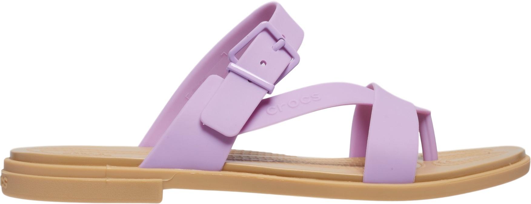 Crocs™ Tulum Toe Post Sandal Womens Orchid 36,5