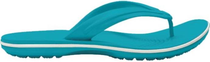 Crocs™ Crocband™ Flip Digital Aqua 37,5