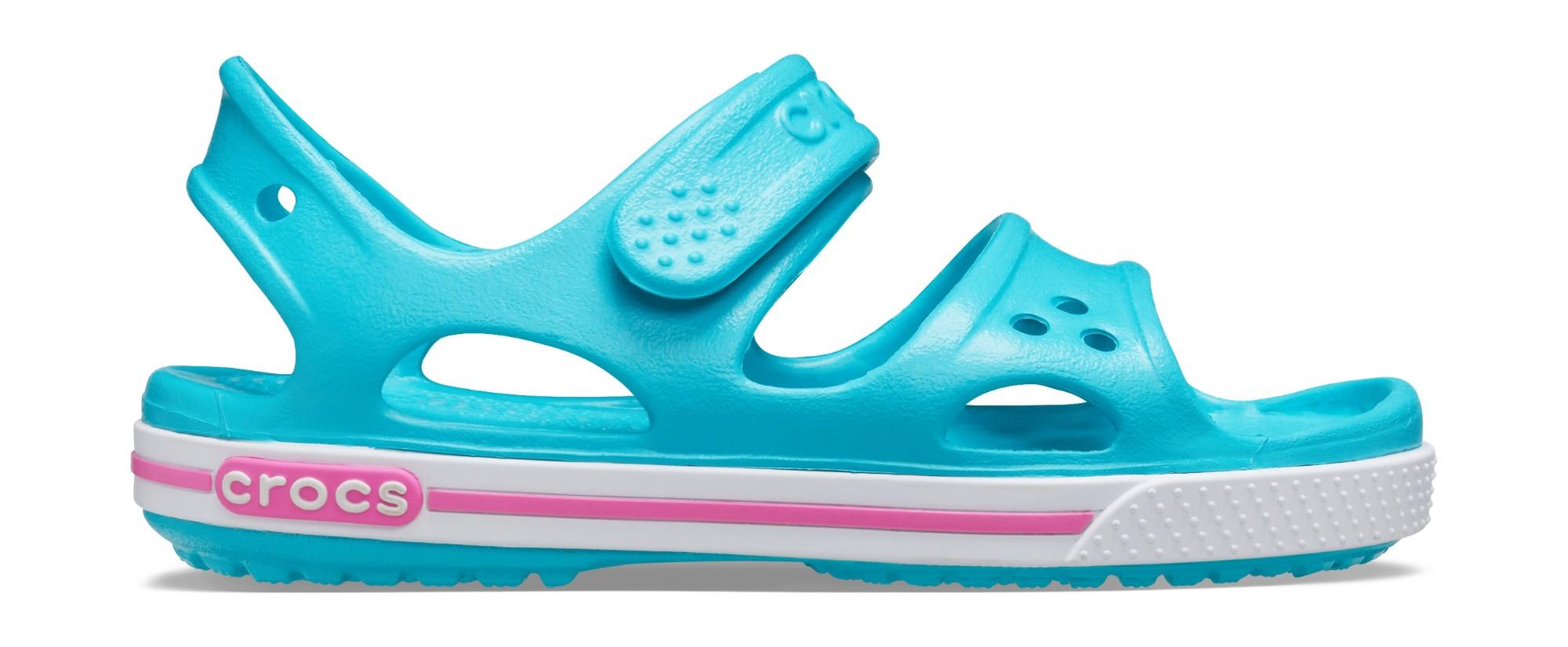 Crocs™ Kids' Crocband II Sandal PS Digital Aqua 32