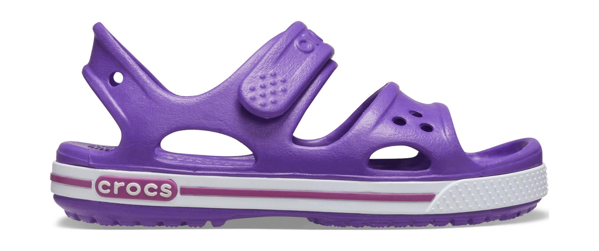 Crocs™ Kids' Crocband II Sandal PS Neon Purple 32