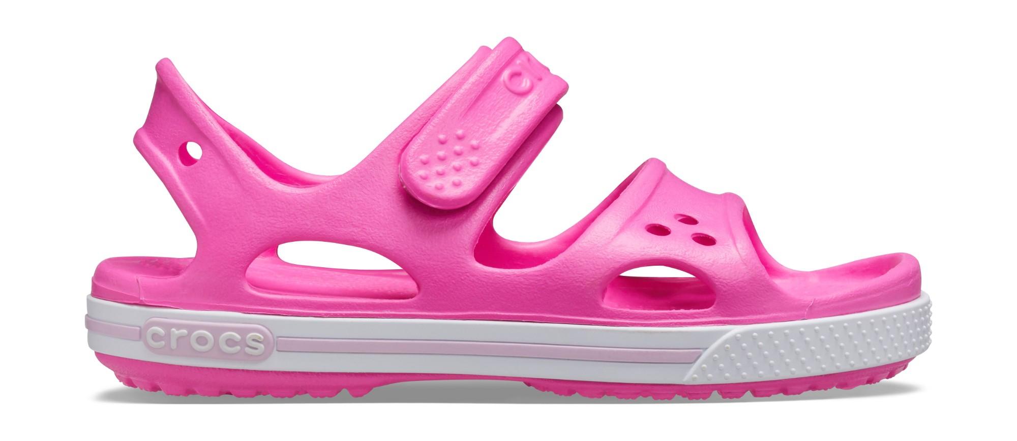 Crocs™ Kids' Crocband II Sandal PS Electric Pink 28