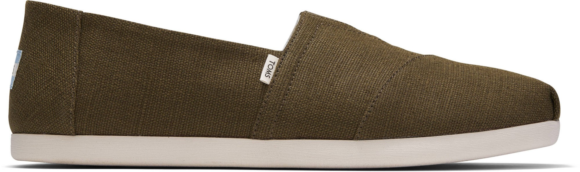 TOMS Heritage Canvas Women's Alpargata Military Olive 45