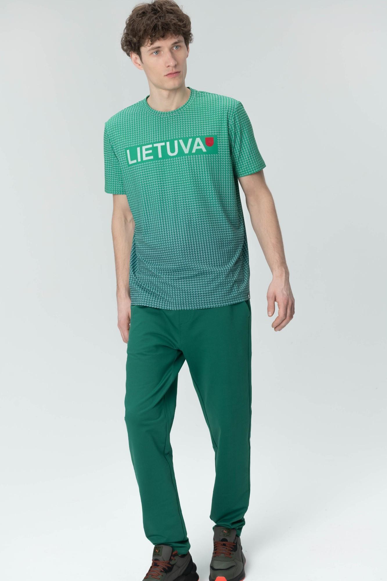 AUDIMAS Funkcionalūs marškinėliai 20LT-401 Jolly Green Printed XXL