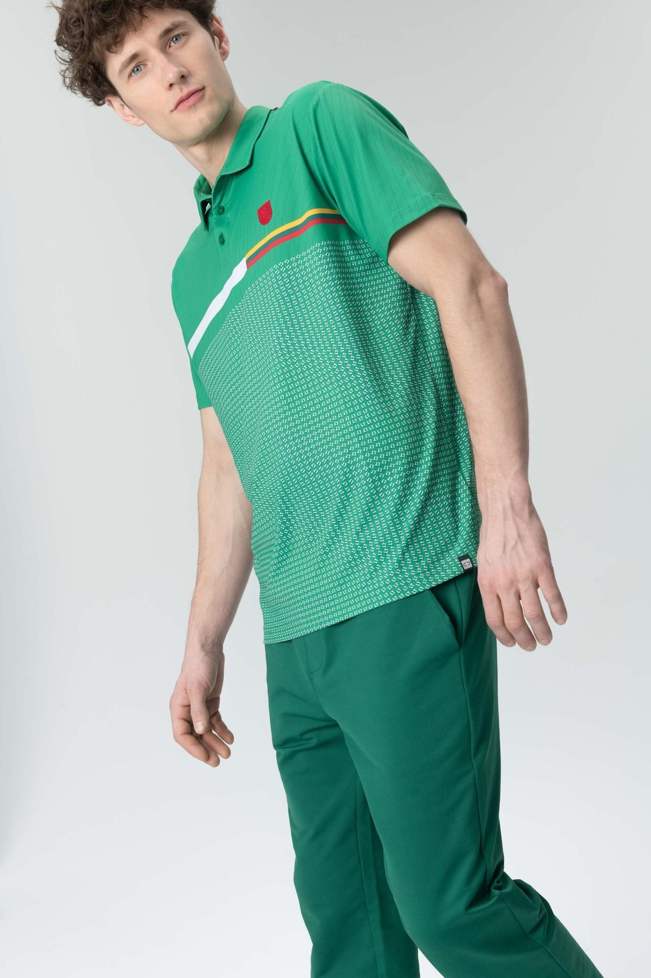 AUDIMAS Marškinėliai 20LT-402 Jolly Green Printed M