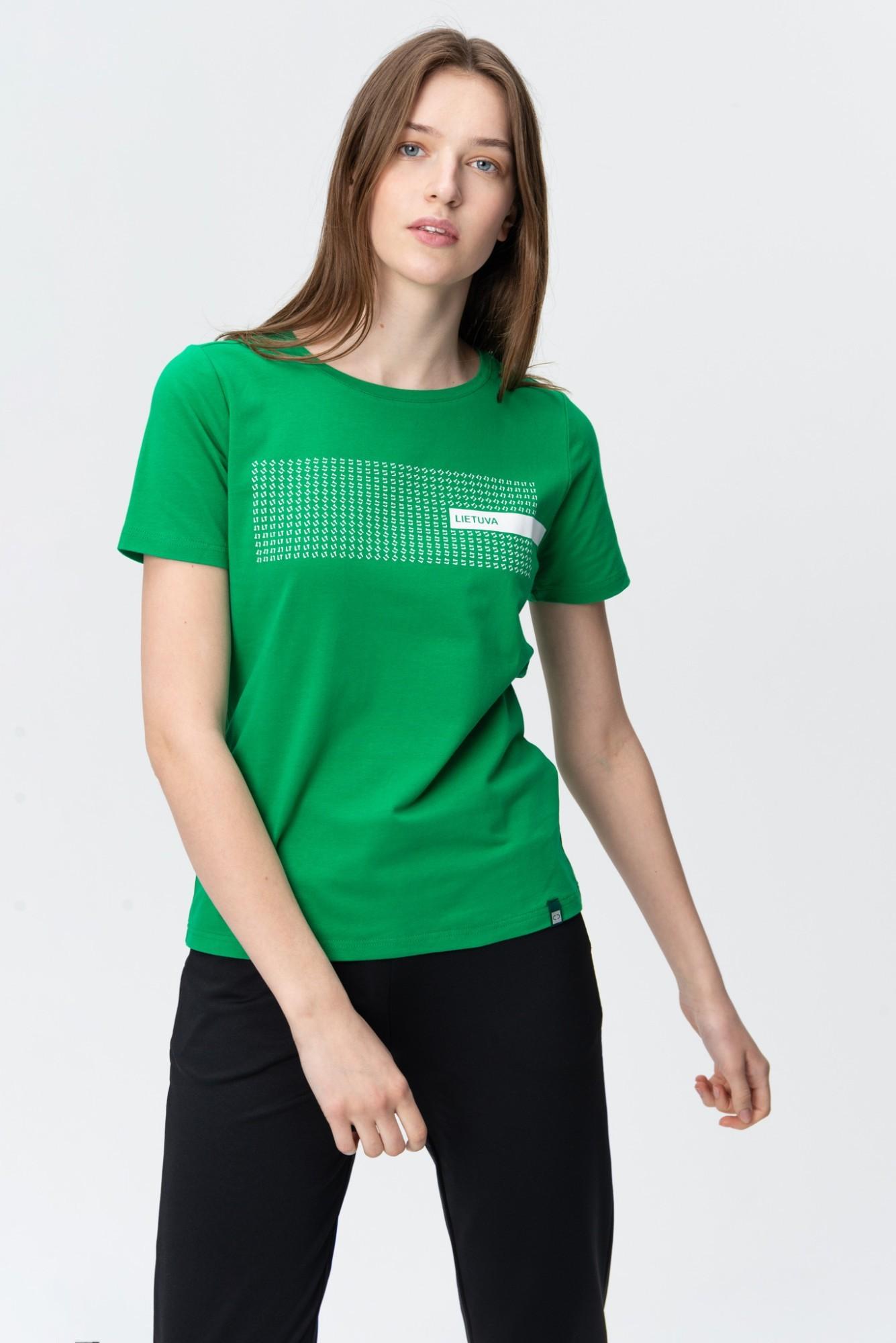 AUDIMAS Medvilnės marškinėliai 20LT-003 Jolly Green Lt M