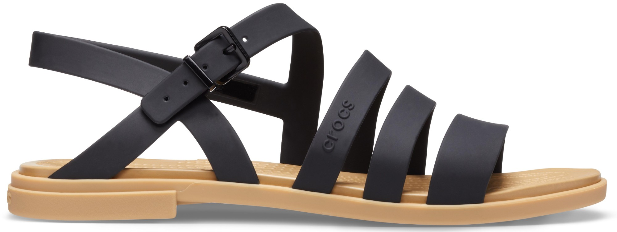 Crocs™ Tulum Sandal Womens Black/Tan 42,5