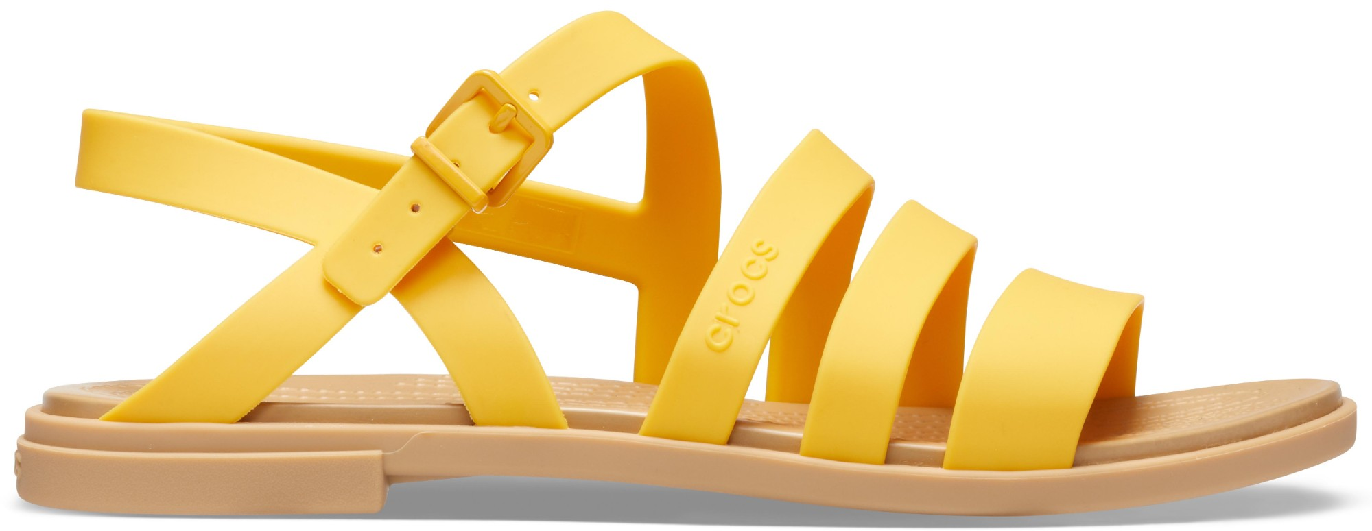 Crocs™ Tulum Sandal Womens Canary/Tan 37,5