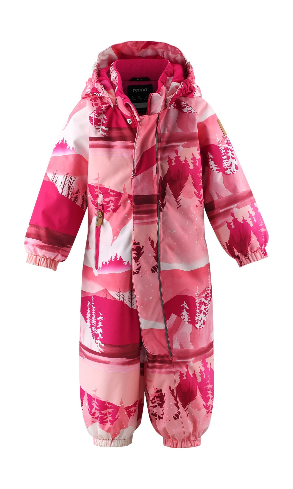 REIMA Puhuri 510306 Raspberry Pink 4655 80
