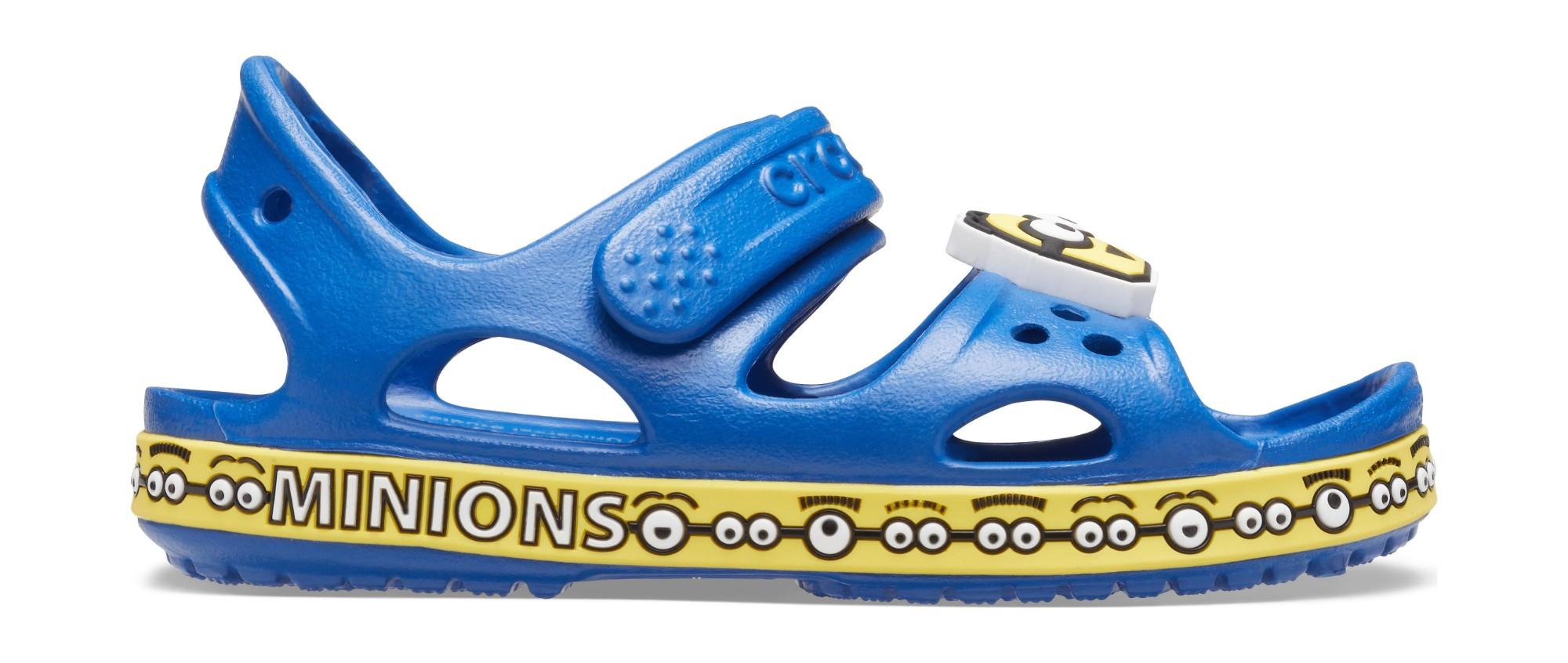 Crocs™ FunLab CBII Minions Sandal Kid's Blue Jean 25