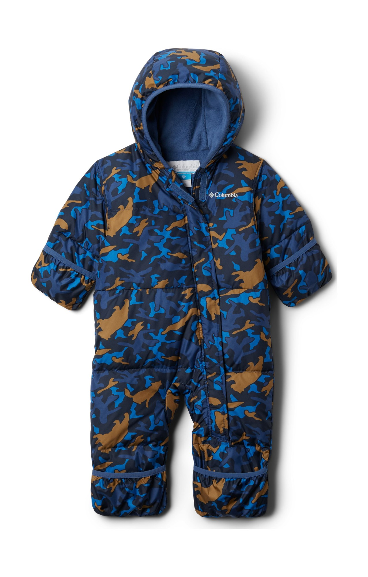 Columbia Snuggly Bunny Bunting Night Tide Camo 80