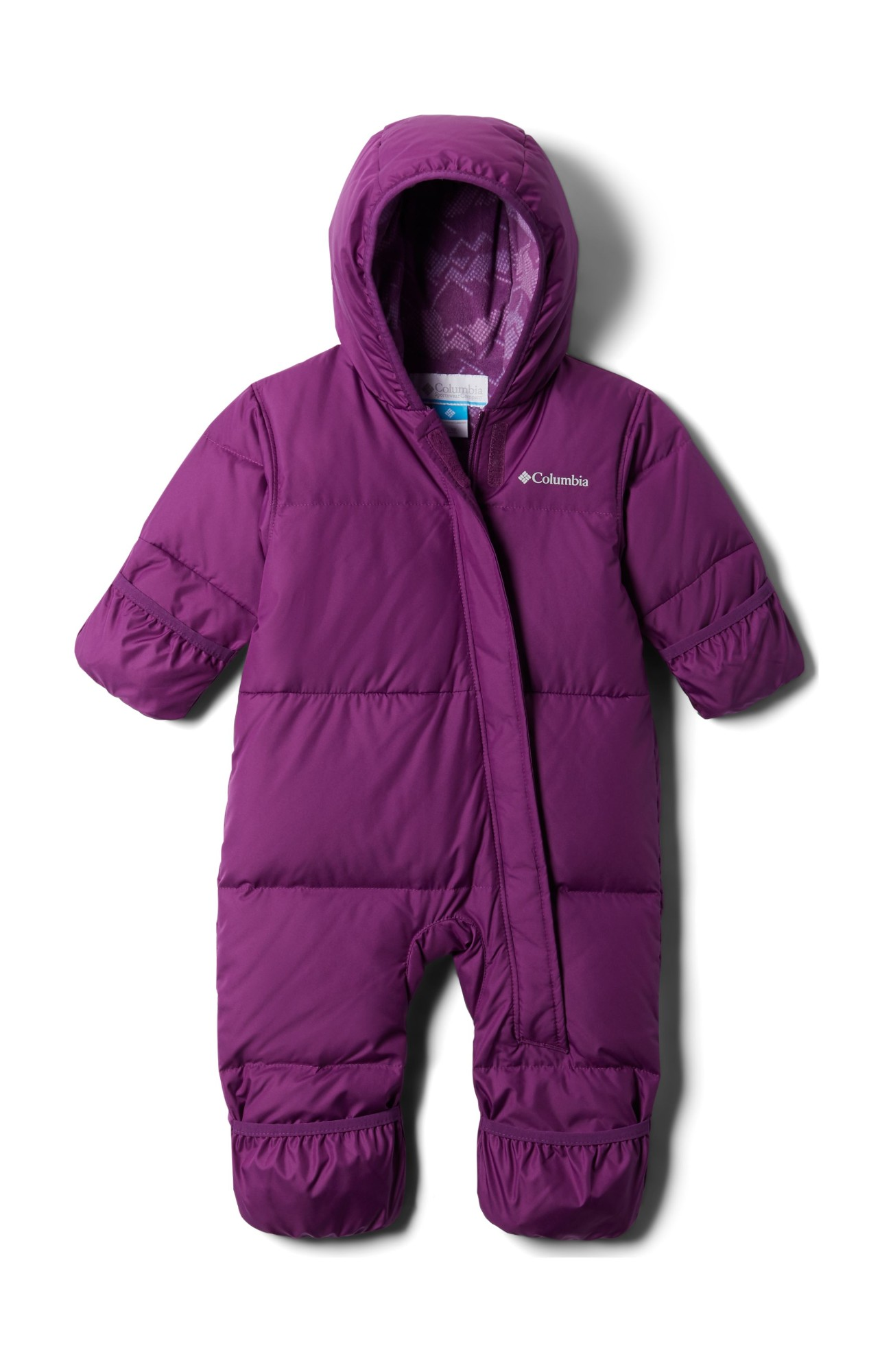 Columbia Snuggly Bunny Bunting Plum 80