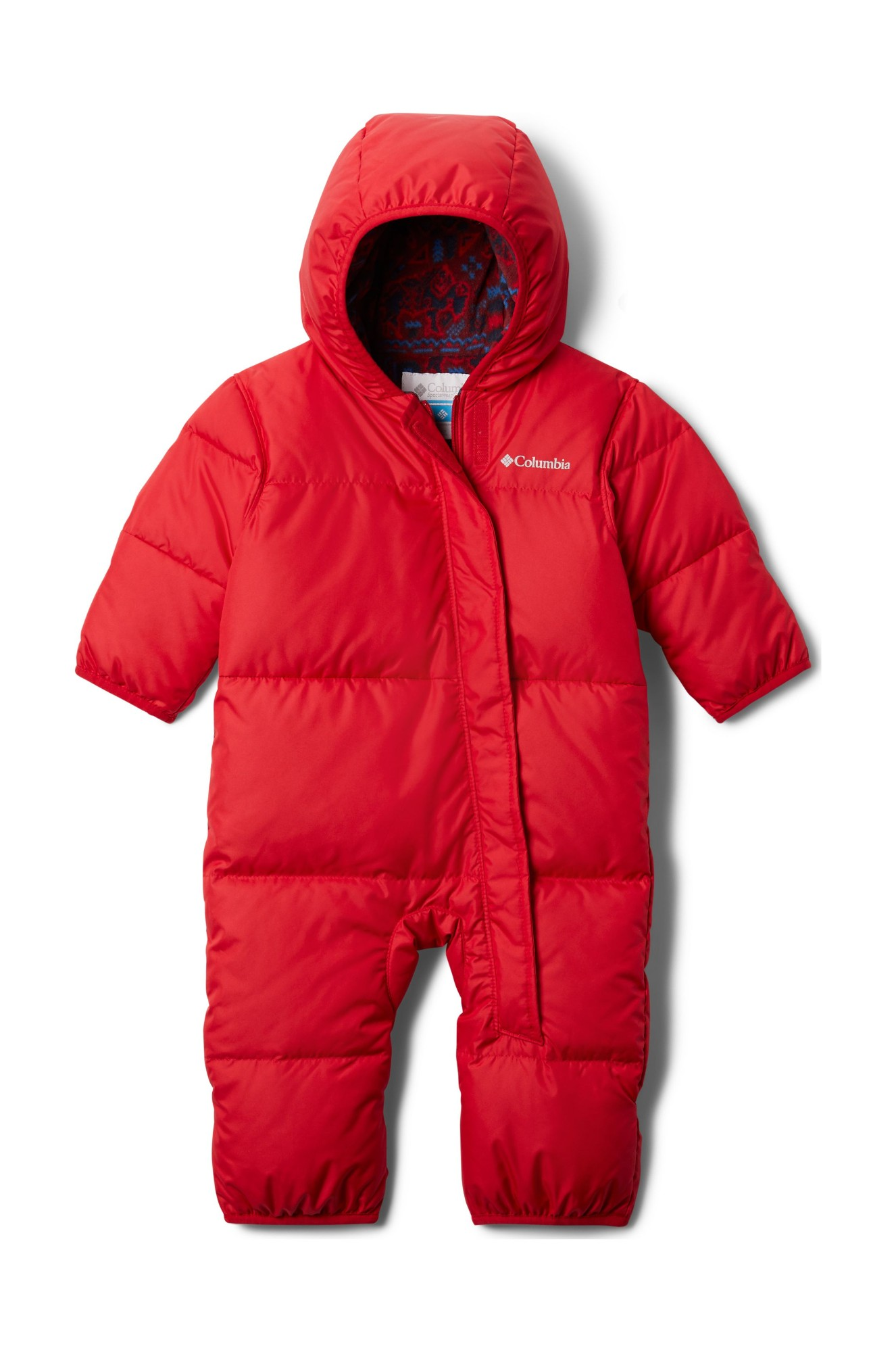 Columbia Snuggly Bunny Bunting Mountain Red 62