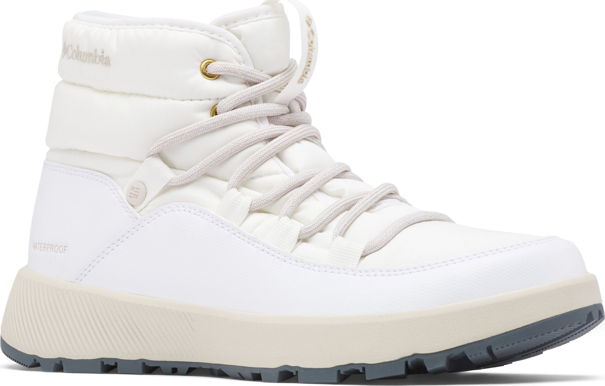 Columbia Slopeside Village Omni-Heat Mid Women's White/Dark Stone 41