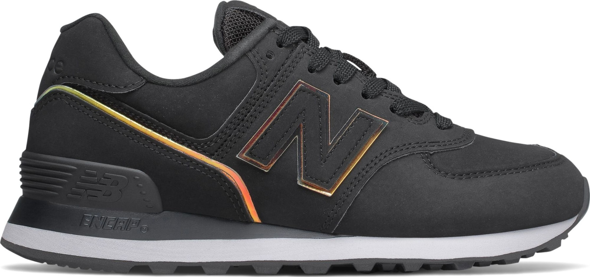 New Balance WL574 Nubuck Black CLG 40,5