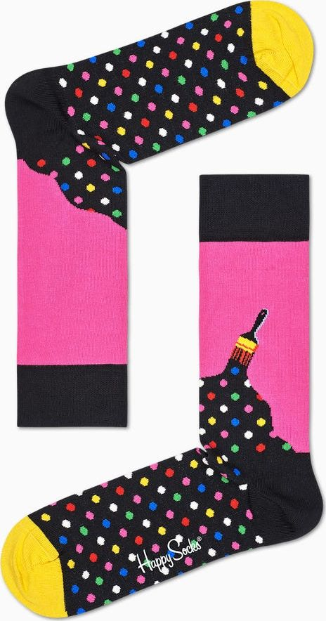 Happy Socks Paint Sock Multi 9001 36-40