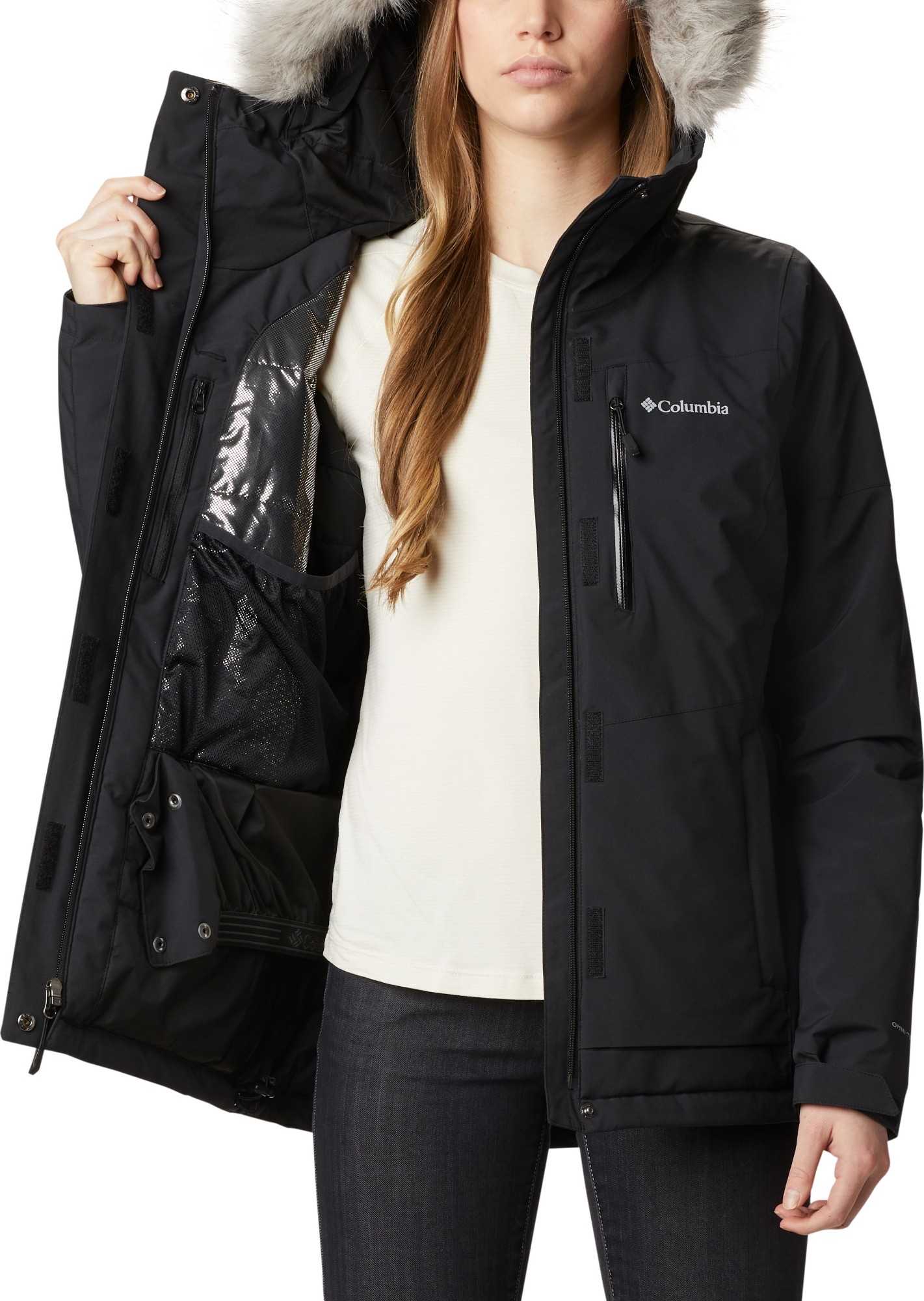 Columbia Ava Alpine Insulated Jacket Women's Black L