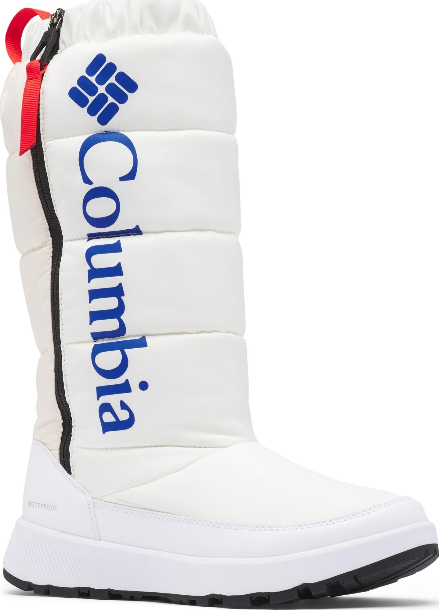 Columbia Paninaro Omni-Heat Tall Women's White/Cobalt Blue 40