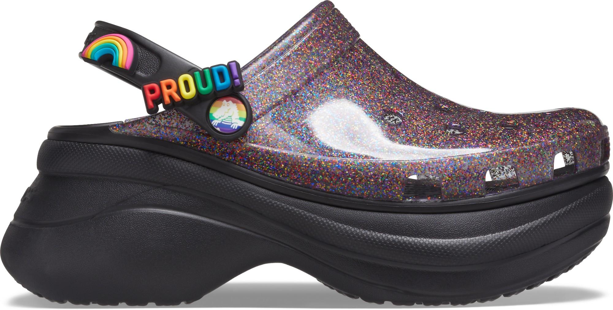 Crocs™ Classic Translucent Glitter Bae Women's Black 36,5